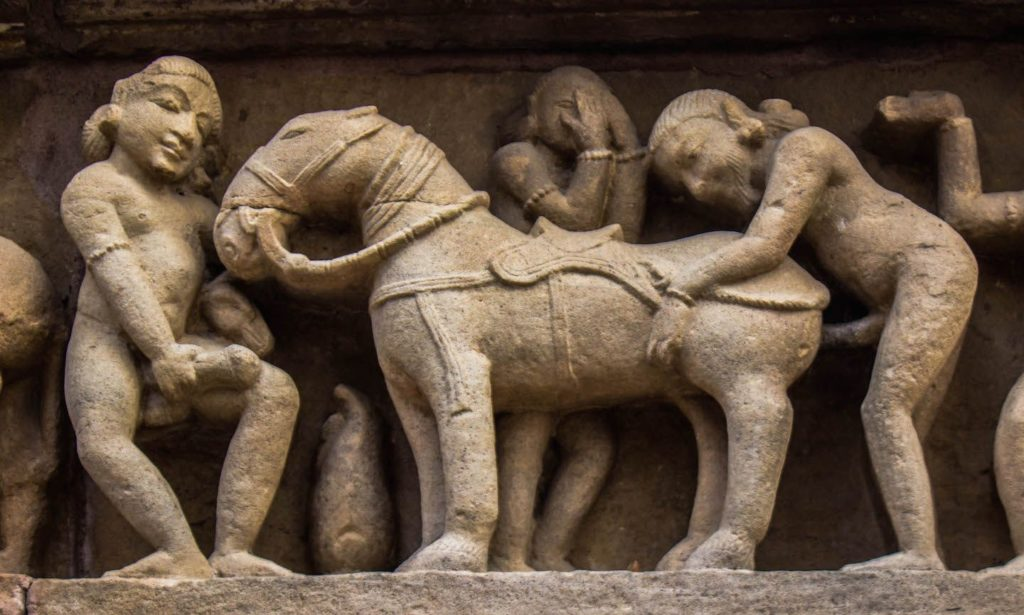 Erotic Ancient Sculptures displaying homosexuality